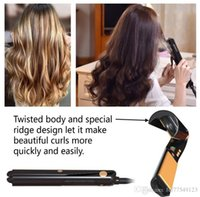 Wholesale HS003 Steam Hair Straightener Curler Flat Iron Professional Argan Oil Infused Hair Treatment Ceramic Steam for Hair Straightening Curling