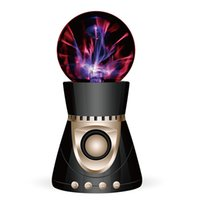 Wholesale disco ball metals - Bluetooth Wireless Speaker Magic Plasma Ball Light Flash Disco Lamp Loudspeaker Sound Box Support TF Card FM Radio USB Disk