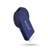 dizüstü bilgisayar tv'leri toptan satış-AnyCast E3S Airplay 1080 P Kablosuz WiFi Ekran TV Dongle Alıcı Akıllı Telefonlar PC Laptop için HDMI TV Sopa DLNA Miracast