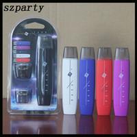 balle vape achat en gros de-G8 Vape Pen Kit Double Fumée Plat 300mAh Avec 1ml Coton Atomiseur Noyau Vape Pen Batterie Mod Vs Suorin Drop