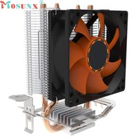 Wholesale air intel - ecoisin2 Mosunx CPU Cooling Cooler Fan Heatsink 7 Blade For Intel LGA INTEL LGA775 E6850 17mar20