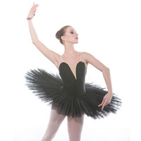 envío rápido tutu al por mayor-DHL envío rápido profesional clásico ballet tutu vestido de baile de la bailarina del tutu vestido de falda para el rendimiento calss