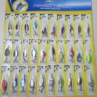 Wholesale kind lures resale online - 30Pcs Fishing Lures Kinds Of Crankbaits Minnow Pesca Popper Jig Baits Tackle Kit Hlk High Quality Fish Product Artificial Bait Hard Lure