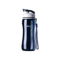 ingrosso bicicletta-Borracce portatili a prova di perdite da 560 ml o 720 ml Bicicletta da escursione Bottiglia in plastica Eco Breve bottiglia sportiva per attività sportive