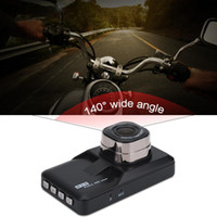 Wholesale full hd dual car online - 3 inch Dual Camera Camcorder Full HD P Car DVR Video Recorder Motion Detection Monitor New Brand High Quality