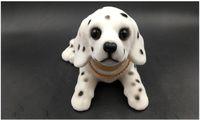 ornamento de cão de resina venda por atacado-Shake cabeça assentindo resina simulação cão reunindo ornamento do carro decoração atacado acessórios 088