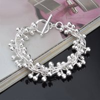 Wholesale brass spots - South Korean popular fashion red bead bracelet in silver plated bracelet wholesale manufacturers hot spot supply