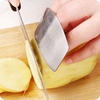 протектор пальца оптовых-Finger Guard Защитите руку пальца, чтобы не повредить нож из нержавеющей стали Ручной защитный нож, режущий инструмент для защиты пальцев Новый