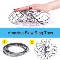 anneaux mâles magiques achat en gros de-Anneau magique Toroflux Torofluxus Flowtoy Débardeur étonnant jouets