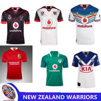 Wholesale red warriors - NEW ZEALAND WARRIORS rugby JERSEY Australia RUGBY NORTH QUEENSLAND COWBOYS Brisbane Broncos South Africa HOME JERSEY