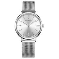 Wholesale ladies solar powered watches resale online - Brand Woman Watch Luxury Women Watches Ladies Gold Steel Strap Quartz Date Watches Casual Waterproof Lady Wrist watch