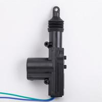 cables de motor al por mayor-Coche profesional Auto Heavy Duty Power Door Lock Actuator Motor 2 Wire 12V Auto Locking