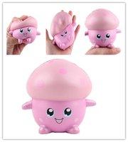 ingrosso fungo squishy-Mushroom Squishy Toys PU Fidget Toy giocattoli a decompressione lenta in salita giocattolo MCT 003