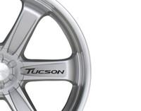 rad hyundai großhandel-Für 6x Auto Alufelgen Aufkleber passt Hyundai Tucson Aufkleber Vinyl Aufkleber Klebstoff PT26