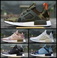 Wholesale olive top - Free shpiping 2018 new runner Mens And Womens R1 PK running shoes in Black,White,olive green,Camo,Pink in top quality