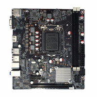Wholesale lga 1155 motherboard resale online - Freeshipping Professional H61 Desktop Computer Mainboard Motherboard LGA Pin CPU Interface Upgrade USB2 DDR3