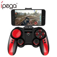 ipega android controller für pc großhandel-Ipega PG-9089 Pirates Wireless Bluetooth Spiel-Controller Gamepad Joysticks für Android / iOS / PC Halter für PUBG vs PG-9087/907