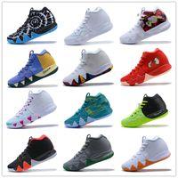 ingrosso pallacanestro all'aperto di alta qualità-Kyrie Cheap Irving 4 Scarpe da basket 2018 Vendita calda Mens Designer Colorato di alta qualità Team Outdoor Scarpe da ginnastica scarpe sportive