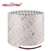 Wholesale fishing tapes - Hello Fish 5m 300 LED 2835 SMD LED strip, 12V flexible light 60 led m tape,RGB  white warm white blue green red yellow