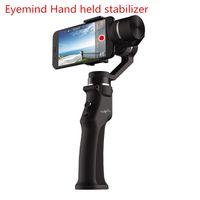 cep telefonu videoları toptan satış-Beyondsky Eyemind Elektronik akıllı sabitleyici 3-axis Gyro El Gimbal Sabitleyici Cep telefonu kamera için anti-shake video kamera