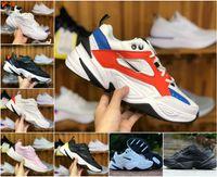 purchase cheap 9ea86 fd09c 2018 NOVITÀ Air Monarch the M2K Tekno Dad Sport Scarpe da corsa Off Top  qualità Donna Mens Designer Zapatillas Bianco Sport scarpe da ginnastica  Sneakers