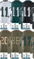 Wholesale Name Brand Shorts - 2018 NEW Super Bowl Pro men Jersey With Name Brand logo Men Lll Limited 11 8 17 20 86 91 free shipping 100% Embroidery