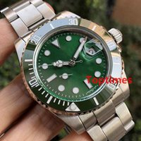 Wholesale mens business casual - Brand Green Ceramic Bezel Aaa Mens Watches Men Gold 116710 Sports Master Reloj Gmt Luxury Watch Business Casual Designer Wristwatches