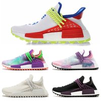 95c83923b NMD Pharrell x human race L4ND Afro Hu Trial Solar Pack NERD Homecoming men  women running shoes holi men sports sneaker size 36-47