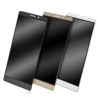 huawei shipping оптовых-Оригинальный Новый Высокое Качество ЖК-Сенсорный Экран Digitizer Замена Для Huawei Ascend Mate 8 бесплатная доставка