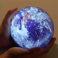 ingrosso luci di notte rotanti-Novità Proiezione LED Light Smart Dimming Rotante Star Moon Sky Night Lamp romantico USB Lights Alta qualità 28 ln B