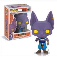 Wholesale anime dragons for sale - Group buy Funko Pop Action Figure Dragon Ball Beerus Action Figure Anime Model Doll Pvc Collection Toys Gift KKA5771