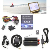 accessoires pour android achat en gros de-Voiture GPS Tracker 128M Voiture GSM / GPRS Tracker Véhicule Tracker 12V-24V Haute Sensibilité Pour Bus Taxis Trucks Voiture Accessoires CCA9548 10pcs