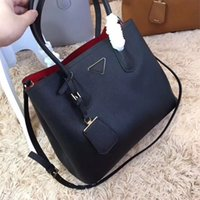 Wholesale black nylon tote - 2018 genuine leather designer handbags USA style high quality designer fashion totes cluth designer messenger bags