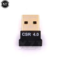 Wholesale v modes - black Mini Bluetooth USB Adapter CSR V 4.0 Dongle Dual Mode Wireless Bluetooth USB 2.0 3.0 3Mbps For Laptop Windows XP 7 8 car