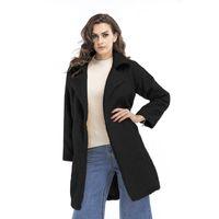 Schwarzer mantel damen oversize