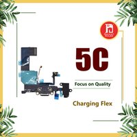 Wholesale iphone 5c charging for sale - Group buy Charging Port Flex Cable For iPhone C Charger USB Dock Connector with Headphone Audio Jack Mic Antenna Ribbon for iphone c