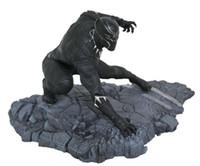 ingrosso bambola dei capretti neri-Black Panther Action Figure Scala 1/6 Black Panther Modello Bambole Decorazione PVC Collezione classica Figurine Giocattoli per bambini 15cm