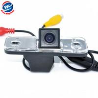 Wholesale rear view camera for hyundai resale online - HD CCD Car Rear View Backup Camera parking camera Rear monitor for Hyundai new Santafe Hyundai Santa Fe Azera WF
