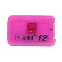 ingrosso carta simpad coolpad-R-SIM12 Pour per iPhoneX / 8 / 8p7 / 6 / 6s / 5 IOS11.x 10.x 4G Nano Sblocco Cloud rsim Card HG