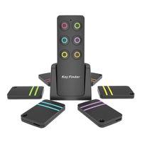 handy verloren alarm großhandel-Key Finder Wireless Smart Locator Key Tracker Anti-Lost-Alarm 1 RF-Sender und 6 Empfänger für Schlüsselgeldbeutel-Haustier-Handgepäck