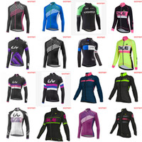 Wholesale orbea long sleeve cycling jerseys - LIV ORBEA team Cycling long Sleeves jersey women Cycling Clothing Mountain MTB Bike Bicycle Ropa Ciclismo D1003