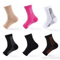 Wholesale support relief - Ankle Support Comfort Foot Anti Fatigue Women Compression Socks Sleeve Elastic Men's Socks Women Swell Relief DDA344