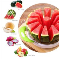 Wholesale muti tool resale online - Eco Friendly Stocked Color Random Muti Function Fruit Slicer Melon Watermelon Slicer Melon Cutter Practical Fruit Kitchen Tool