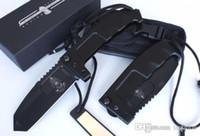 ingrosso coltelli da combattimento trasporto libero-EXTREMA RATIO RAO ET-RAO 440 lama CAMBAT coltello da combattimento tattico coltello da collezione coltello raccolta GRATUITA 1 pz SPEDIZIONE