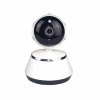 Wholesale dvr cctv ip wifi online - V380 Mini Camera DVR IP Wifi Camera HD P Degree Panoramic Network CCTV Security Camera IR CUT TF card GB