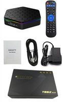 Wholesale Android Amlogic S912 TV Boxes T95Z Plus GB GB GB GB Octa core G G Dual WIFI BT4 KD17 Krypton Smart TV Box
