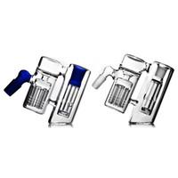 bongs de cristal de calidad al por mayor-Buena calidad 90 Grados Colectores de ceniza Brazo Árbol Colector humeante Dab Rig Glass Bong 14mm 18mm Reflujo conjunto Bongs de vidrio Accesorio Envío gratis