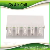 Wholesale gs head - Original GS Air 2 Coil Head 1.5ohm 1.2ohm 0.15ohm 0.75ohm Replacement TC dual coils Suit GS Air Atomizer 100% Authentic