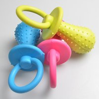 Wholesale dogs toy poodle for sale - 1Pc Rubber Nipple Dog Toys For Pet Chew Teething Train Cleaning Dog Toy Poodles Small Puppy Cat Bite Best Pet Dogs Supplies