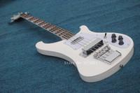 cadena de guitarra al por menor al por mayor-Custom Shop RARE 4 cuerdas Bass Guitar 4003 blanco venta al por mayor venta al por menor de guitarras China envío gratis